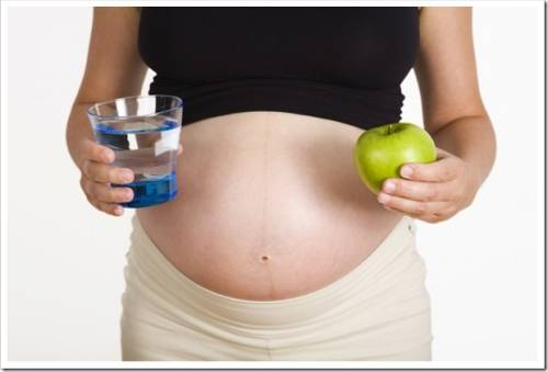 Причины изжоги во время беременности.