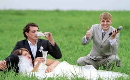 Как интересно провести свадьбу без тамады?
