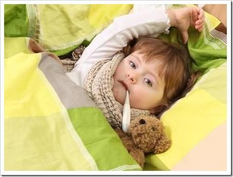 Что делать, если поднялась температура у ребенка?