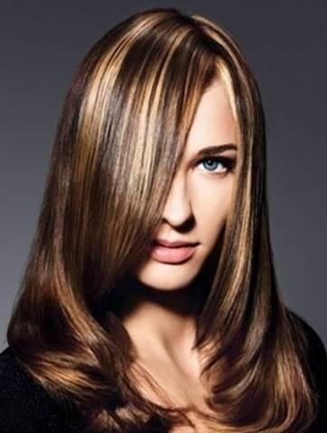 Как осветлить темные волосы?