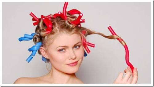 Как завивать бигуди на волосы