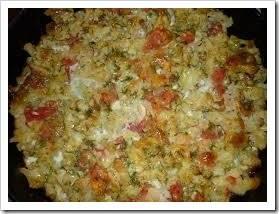 Как приготовить замороженную цветную капусту с яйцом