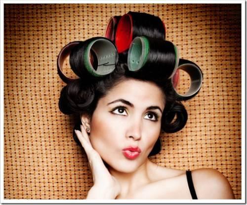 Как правильно накрутить волосы на бигуди липучки