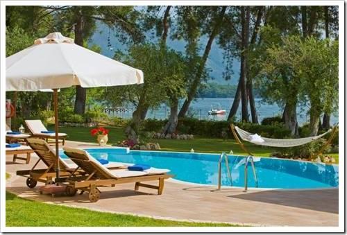 Где находятся самые дорогие курорты Корфу?