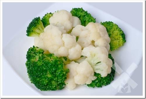 Как приготовить брокколи и цветную капусту