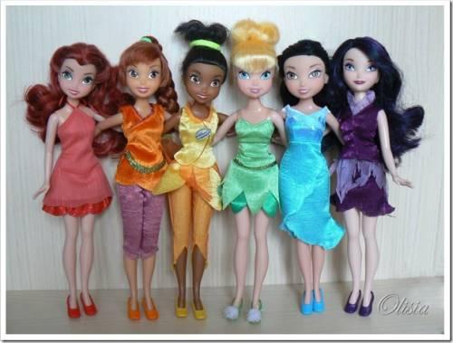 куклы феи Диснея