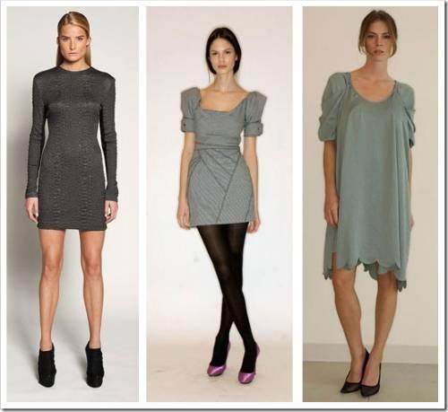 Какие выбрать туфли под серое платье?