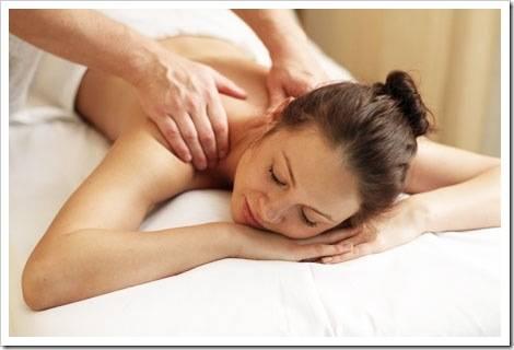 Как правильно делать массаж спины?