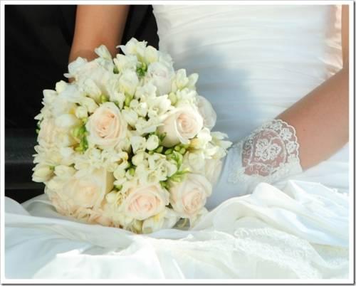 Как сделать свадебный букет самой?