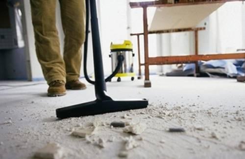 Как сделать уборку коттеджа после ремонта?