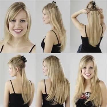 Как прикрепить волосы на заколках?