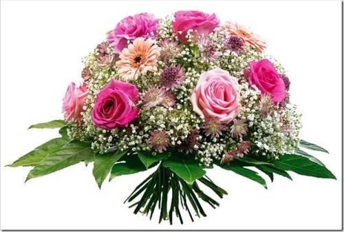 Основные правила покупки цветов.