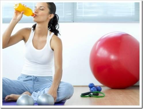 Особенности женского спортивного питания