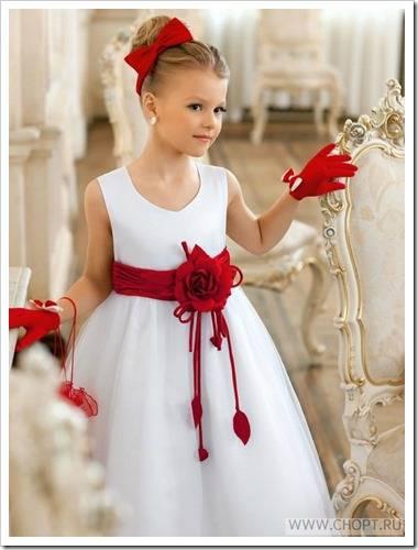 виды платьев для девочек на новогодние праздники