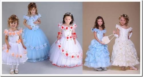 Какие бывают новогодние платья для девочек?