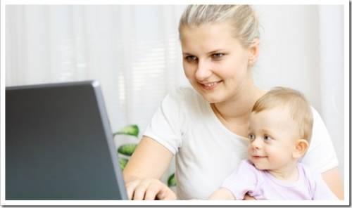 Мама в декрете: где и как можно успеть подработать?