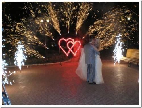 Какой фейерверк купить на свадьбу?
