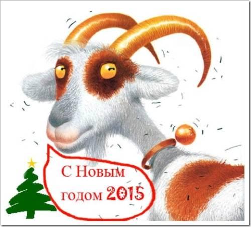 Какой символ нового года 2015?