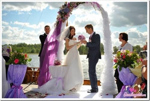 Как проходит выездная регистрация брака?