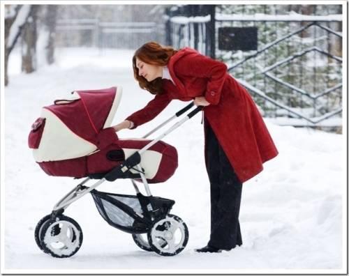 Какие коляски лучше для зимы?