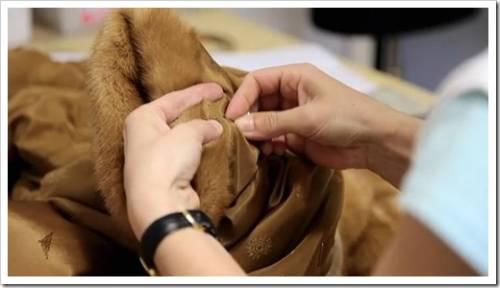 Как сделать ремонт шубы своими руками?