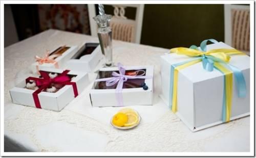 Как сделать картонную коробку для кондитерских изделий?
