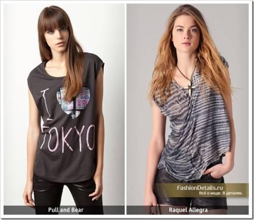 Как выбрать футболки для девочек подростков?