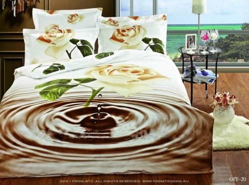 Что такое постельное белье 3d?