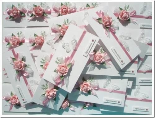Как написать приглашения на свадьбу?