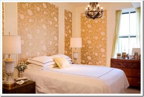 Некоторые правила по выбору обоев для спальни