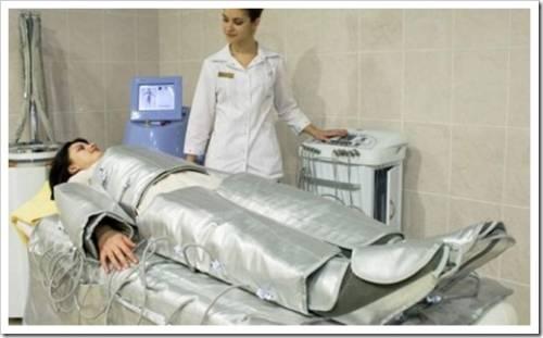 Восстановительные процессы при проведении прессотерапии.