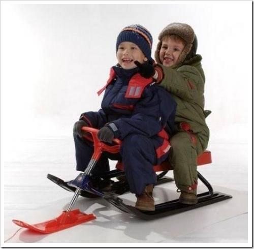 Выбираем снегокат для ребенка.