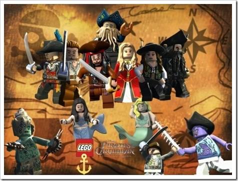 Кино- и мультипликационные серии Lego