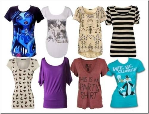 С чем можно носить футболки?