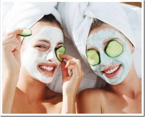 Суживающие поры маски для лица