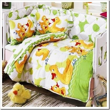Как выбрать детское постельное белье в кроватку?
