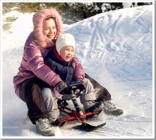 Особенности снегокатов для детей разного возраста