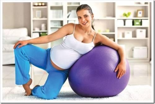 Преимущества занятий спортом в период ожидания малыша