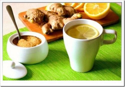 Болезни, которые могут быть вылечены имбирным чаем