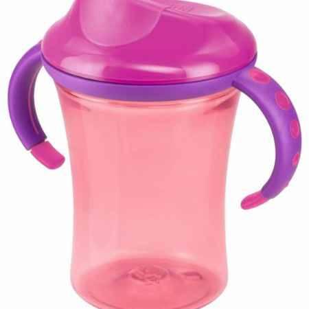 Купить Nuk 2 с пластиковой насадкой для питья и ручками Easy Learning