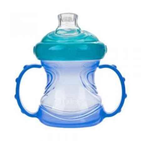 Купить Nuby Чашка с силиконовым носиком 240 мл с 6 мес. 9895