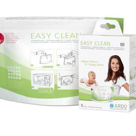 Купить Ardo Пакеты для стерилизации в микроволновой печи Easy Clean 5 шт