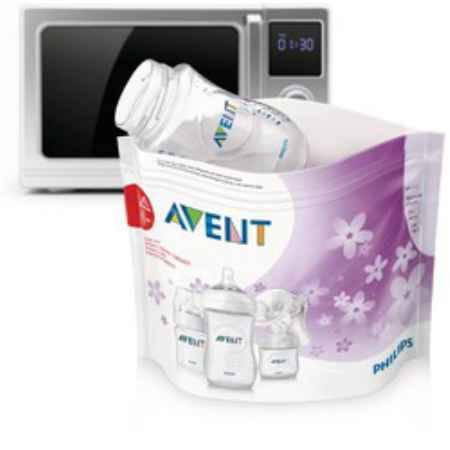Купить Philips-Avent Пакеты для стерилизации в микроволновой печи SCF297/05 82970
