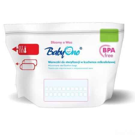 Купить BabyOno Пакеты для стерилизации в микроволновой печи 5 шт.
