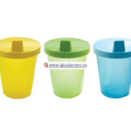 Купить Luvable Friends Чашки-непроливайки 3 шт. 210 мл
