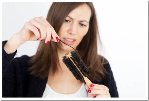 Диета, как средство против выпадения волос