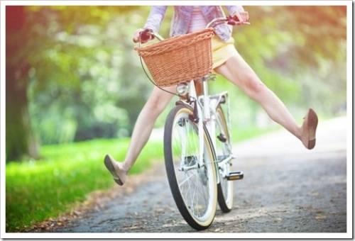 Преимущества велосипеда относительно автомобиля