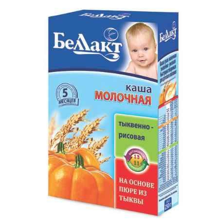 Купить Беллакт Тыквенно-рисовая каша молочная с 5 мес., 250 г