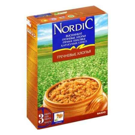 Купить Nordic Безмолочная каша Гречневые хлопья 550 г