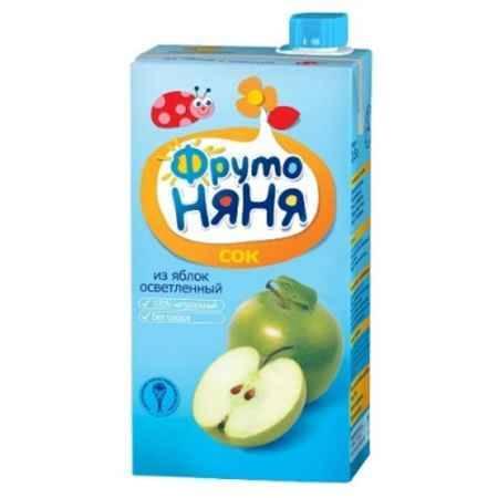 Купить ФрутоНяня Сок из яблок осветленный с 3 лет, 500 мл (тетра пак)